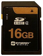 GE X500 Digital Camera Memory Card 16GB SD Card