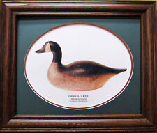 Canada Goose Premier Grade Decoy by the Mason Decoy Factory Giclee Photo Framed