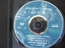 FORD LINCOLN MERCURY NAVIGATION  DVD Map 4P RELEASED 2007 FORD NAVIGATION DVD