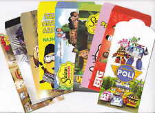 [SS] SDR129 Assorted Cartoon Hello Kitty Upin Minions Sampul Duit Raya 9pcs