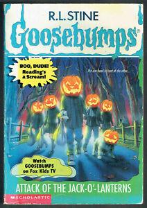 GOOSEBUMPS, ATTACK OF THE JACK - O- LANTERNS #48, VGC.