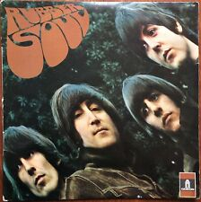 THE BEATLES Rubber Soul 1965 BIEM Odéon LSO 102 S France Repress 1968 label noir