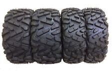 New ATV UTV Radial Tires 27x9R14 27x11R14 All Terrain 6PR 4 Pack Big Horn Style