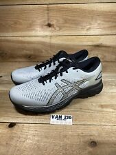 ASICS Men's GEL-Kayano 25 Running Shoes 1011A019 Glacier Grey/Black Size 12