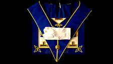 Masonic Regalia-CRAFT PROVINCIAL UNDRESS APRON & COLLAR (LAMBSKIN)+ FREE GLOVES