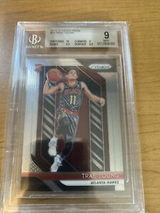 2019 Panini Prizm Trae Young #78 Rookie RC BGS 9 w 10 Centering PSA?