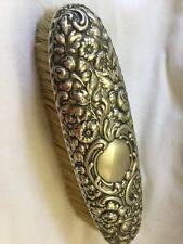 Estate Antique 1800's DOMINICK HAFF Sterling Silver Repousse Brush *NO MONO*
