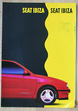 rare Catalogue Seat Ibiza - France 1993 -8p