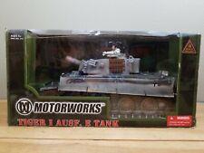 Motorworks Tiger I Ausf. E Tank 1:18 WWII