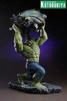 Kotobukiya The Incredible Hulk Collectible Limited Fine Art Statue Marvel New