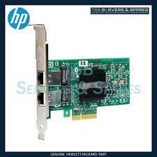 More details for hp nc360t dual port gigabit pci-e ethernet network card 412646-001 412651-001