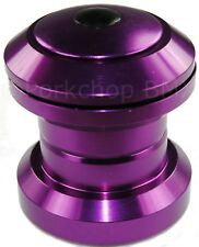 "Aluminum alloy Bmx or Mtb bicycle headset 1 1/8"" threadless - Purple Anodized"