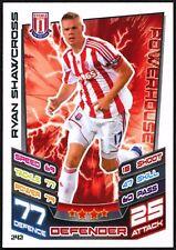 Ryan Shawcross Stoke #242 Topps Match Attax Football 2012-13 Trade Card (C440)