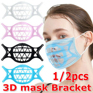 3D Bracket Silicone Face Cover Support Frame for Lipstick Protection UK Hot Sell