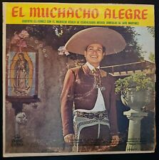 """Roberto Gutierrez con el Mariachi Aguila de Guadalajara """"El Muchacho Alegre"""" LP"""