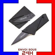 Couteau pliable format carte bancaire. De poche survie camping mini SURVIVALISME