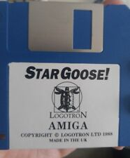 Star Goose! (Commodore Amiga Diskette) (Logotron 1988) 100% ok
