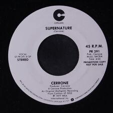 CERRONE: Supernature / Same 45 (dj, 6:03 version on 45, Italo Disco) Soul
