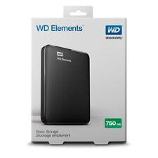 Disco duro PORTATIL - WD Elements 750Gb - Negro WESTERN DIGITAL