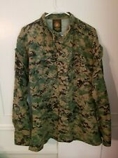 USMC Marines Woodland MCCUU MARPAT Digital Camo Jacket, Size Medium Regular