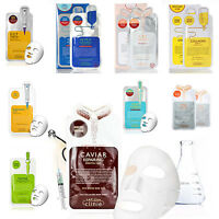 Korean Essence Facial Mask Sheet, Deep Moisture Face Mask Pack Skin Care Mask