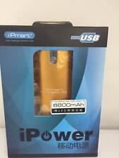 POWER BANK Batería externa cargador universal para movil y tablet de 6800mah USB