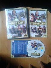 Les Sims: médiéval pour le PC, DVD-ROM et Apple Mac-Complet, très bon état