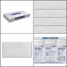 Fiber Cement Shingle Siding Weatherside Purity Straight Horizontal Panel Shingle