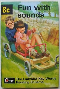 Vintage Ladybird Book – 8c Fun with sounds – Key Words – Very Good/Near to Fine