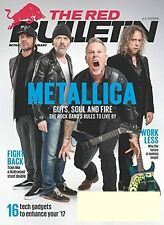 THE RED BULLETIN  MAGAZINE FEB/MARCH  2017 METALLICA - NEW & UNREAD