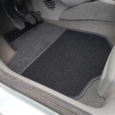 uniTEC Auto Fußmatten Set 4tlg. Velour Schwarz Audi VW Mercedes Opel Toyota Ford
