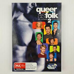 Queer As Folk (U.S.) : Season 2 DVD - 5 Disc Set - Region 4 - TRACKED POST