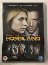 Homeland - Series 2 - Complete (4xDVD) Claire Danes, Damian Lewis