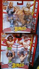 La roca piedra fría Sheamus Ultimate Warrior nos Rumblers Nuevo Sellado Raro