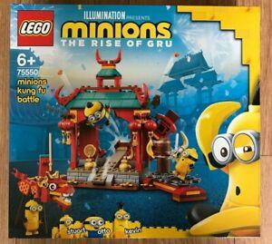 Lego 75550 Minions The Rise Of Gru Minions Kung fu battle  ~Brand NEW~
