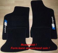 Autoteppich Fußmatten für VW Lupo 4tlg Motorsport 3 farbig nicht original Neu