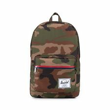NWT Herschel Supply Co. Pop Quiz Woodland Camo Multi Zip Backpack Bookbag Bag