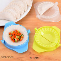 3 X DUMPLING MOULD DOUGH PRESS DIY MEAT PIE PASTRY MAKER TOOL SAMOSA EMPANADA