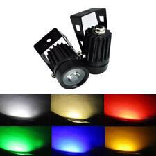 3W LED Outdoor Solar Power Garden Lamp Spotlight Lawn Landscape Light 220V White