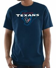 1590aed21 NFL Houston Texans Majestic Men s Pick Six T-shirt - Navy Blue Medium