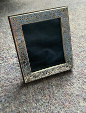 More details for finest quality 999 hallmarked silver london & britannia photo frame.