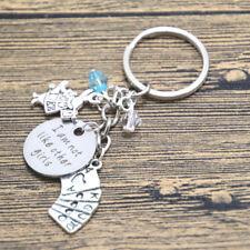 Alice In Wonderland I Am Not Like Other Girls Keyring KeychaiN Charm In Gift Bag