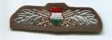 Hungarian Peoples Army Dress NCO Branch Insignia Patch Badge Bullion Communist