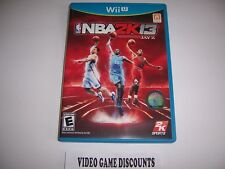 Original Box Case for Nintendo Wiiu Wii U NBA 2K13