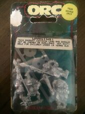 Citadel savage orc GUERRIERI NUOVO IN BLISTER GAMES WORKSHOP IN METALLO FUORI CATALOGO