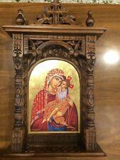 Theotokos The Healer Handmade Greek orthodox Russian byzantine icon