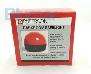 PATERSON Darkroom Safe light safelight PTP760 for black&white papers - UK plug