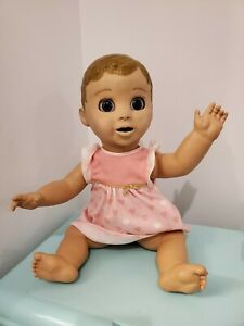 Luvabella Interactive Baby Doll Spin Master With Original Outfit  Working EUC