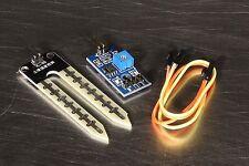 Soil Moisture Sensor and Soil Hygrometer Detection Module for Arduino