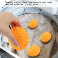 4Pcs Reusable Laundry Washing Machine Dryer Balls Drying Fabric Softener Ball